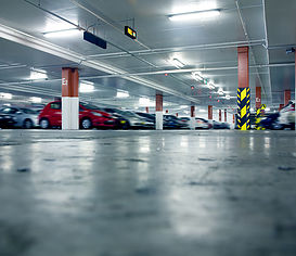 Gas monitoring in car parks
